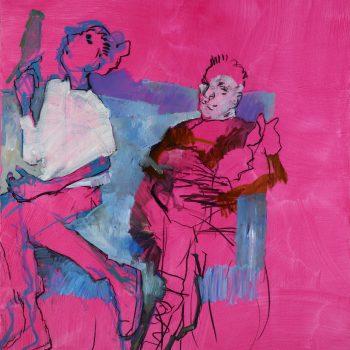 Jacques a Dit - 2010, 140 x 120 cm