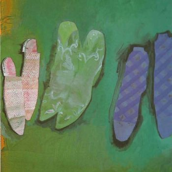 Shoes and socks - 1999, 70 x 50 cm